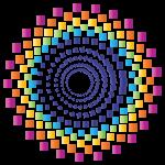 شعار جمعية إشراق فقط الدائرة